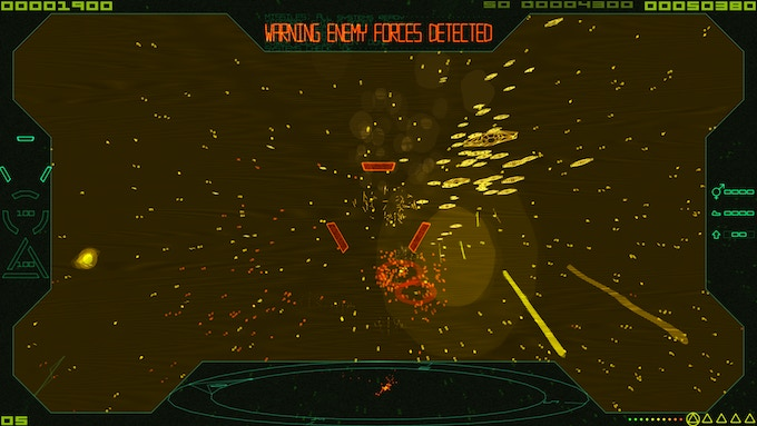 (Laying waste to some invaders)