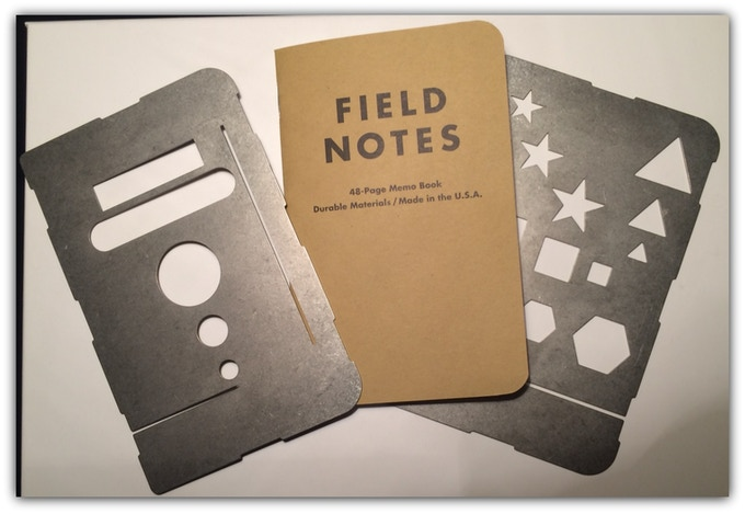 Working prototype - Field Assistant memo book cover