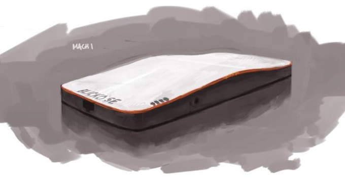 Early sketch for casing
