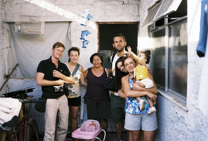 On Location in Favela Vila Autodromo