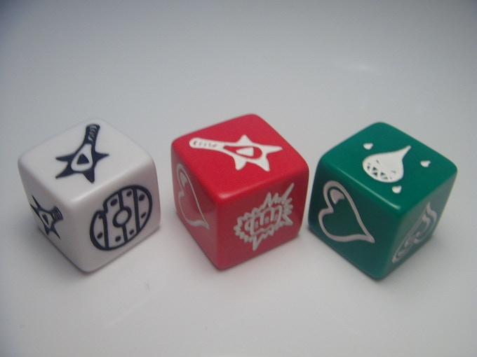Dice images not final