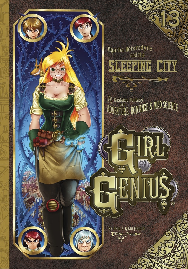 Girl Genius Volume 13 Cover Art