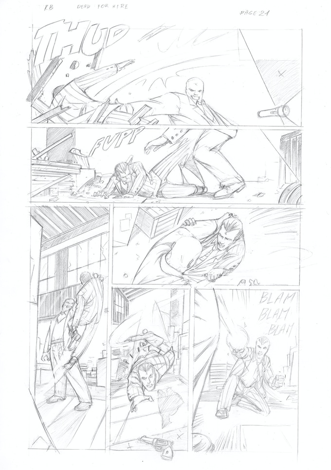 Pencils for page 21