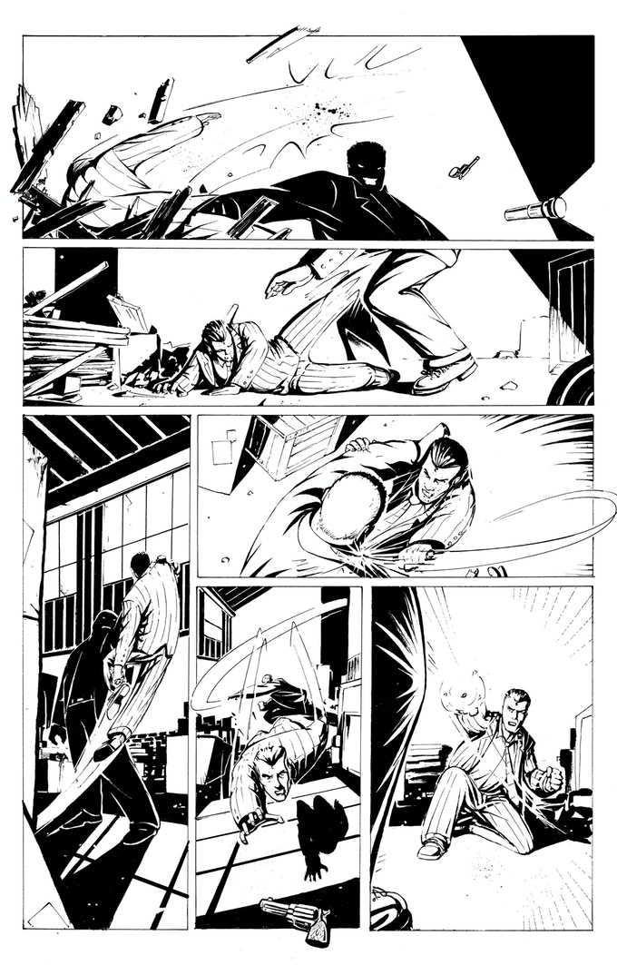 The Inks for page 21