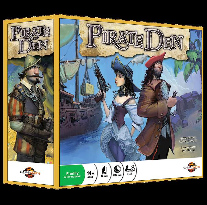 Pirate Den Cover (not final art)