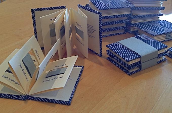 Miniature letterpress chapbook
