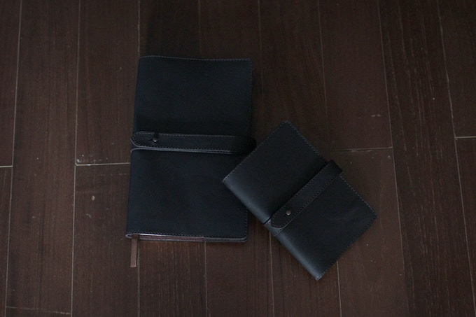 The Strap Journals, A5 & A6, both in Espresso
