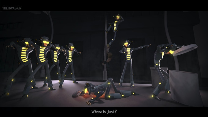 Inspirational render of Jack Dancer and Dance Minions