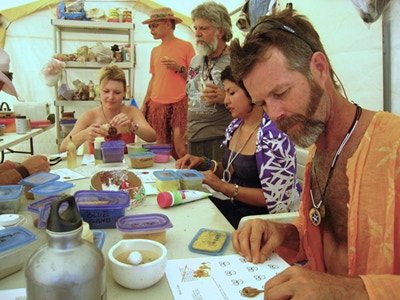 Learning to Make Pendants on the Playa