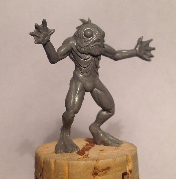 The Deep One miniature. Let's get this made!