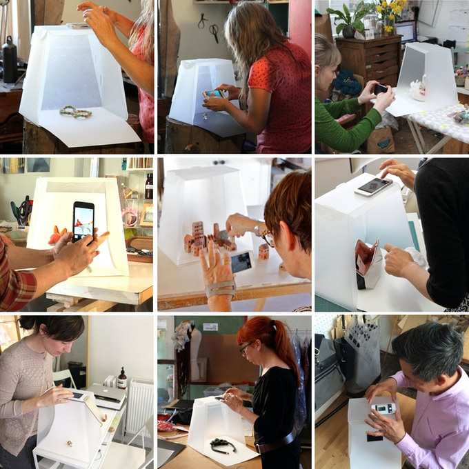 Designers using the Lightcase in their Studios