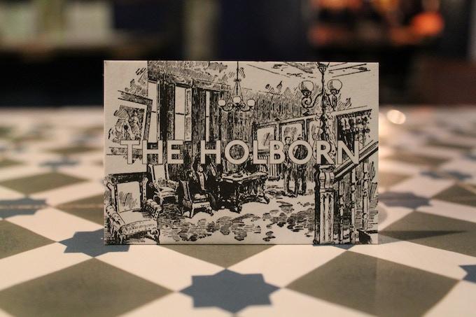 Your Holborn Membership Card.