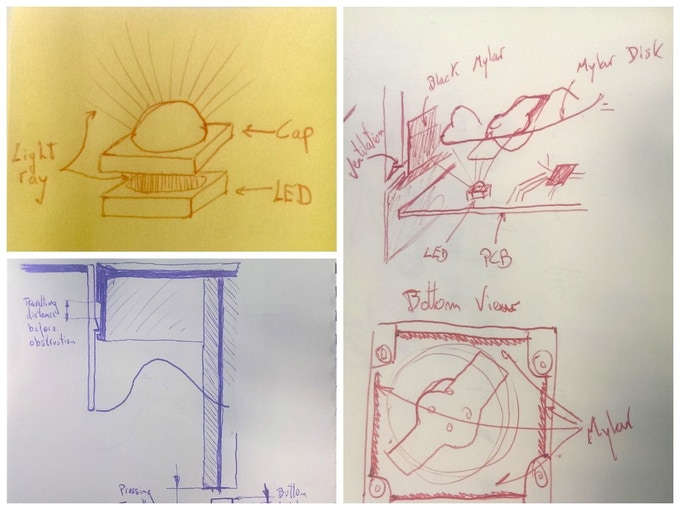 Early sketches by our Head of Product, Iurgi.