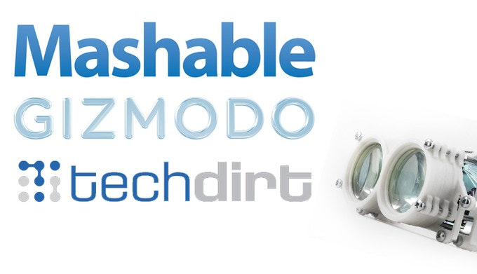Click here the articles on Mashable, Gizmodo and Techdirt