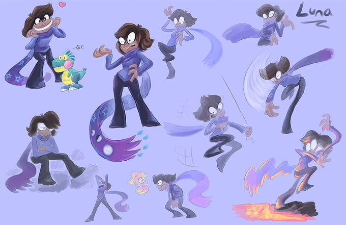 Luna Character Sheet