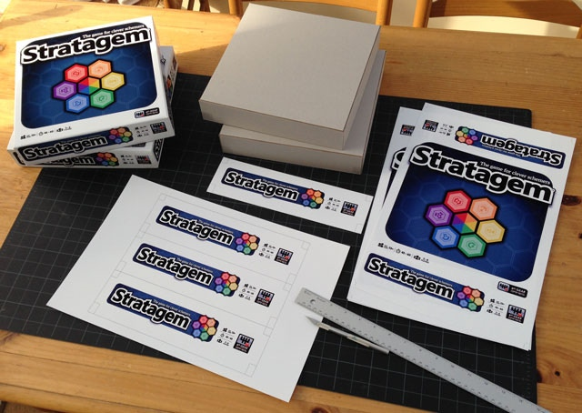 Making a few prototypes to send out to previewers