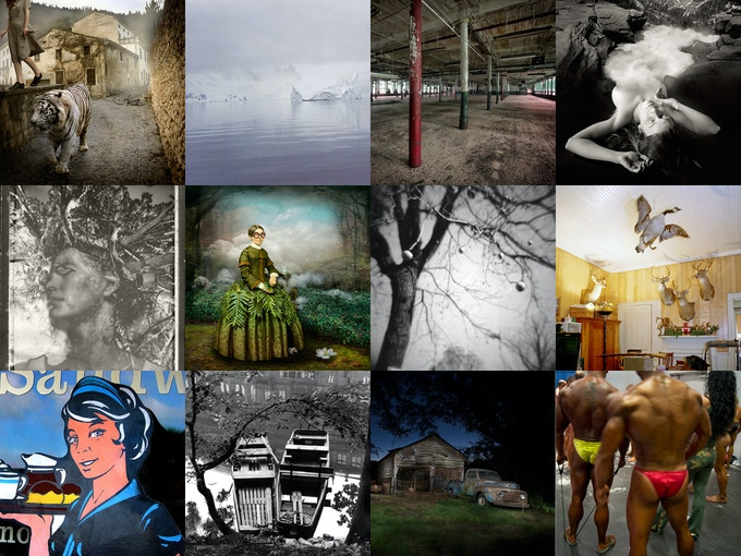 A sampling of the prints available as rewards for your support.