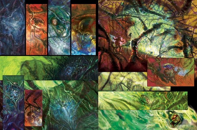 """""""El Grande"""" Pages 3-4 by project artist Elio Guevara"""