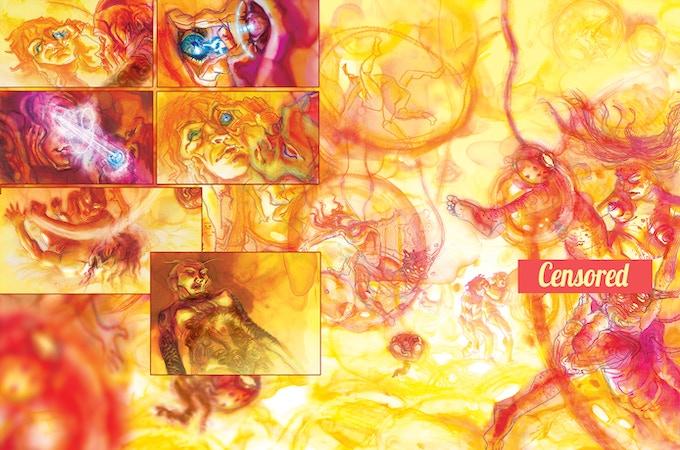 """""""El Grande"""" Pages 30-31 by project artist Elio Guevara"""