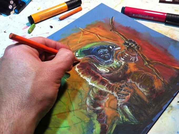 """Process Photo from """"El Grande"""" Page 6"""