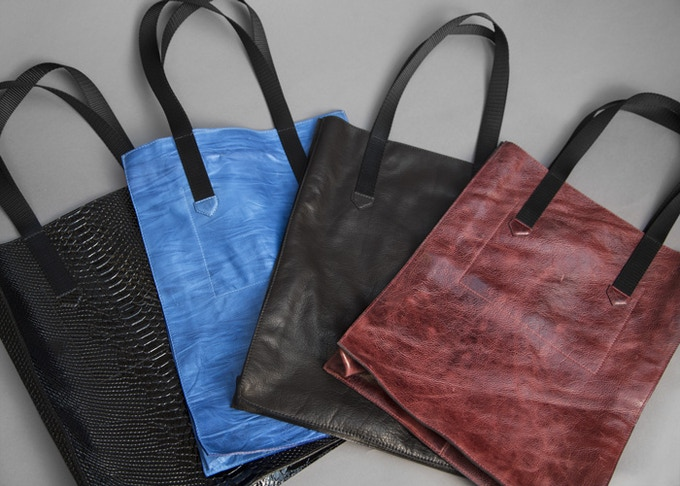 Stretch Goal: Leather Tote Bags