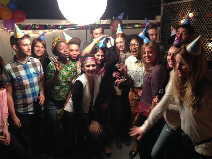 That's a wrap! Thank you to all my beautiful actors for your help!