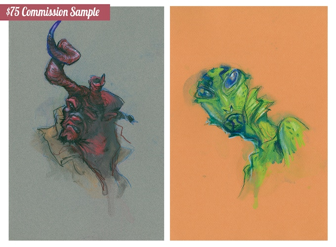 $75 Commission Samples Request Any Character
