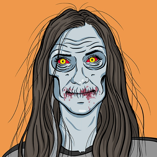 Zombie Unselfie