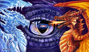 #2 Fire & Ice Mat (CLICK FOR LARGE PREVIEW)