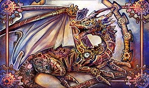#1 Clockwork Dragon Mat (CLICK FOR LARGE PREVIEW)