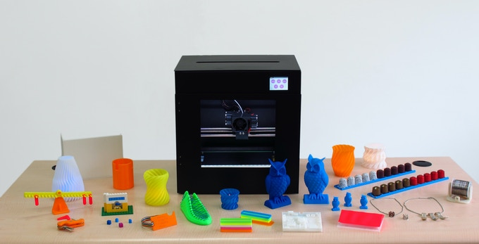 Amaker - World's First Dual ARM Open Source 3D Printer