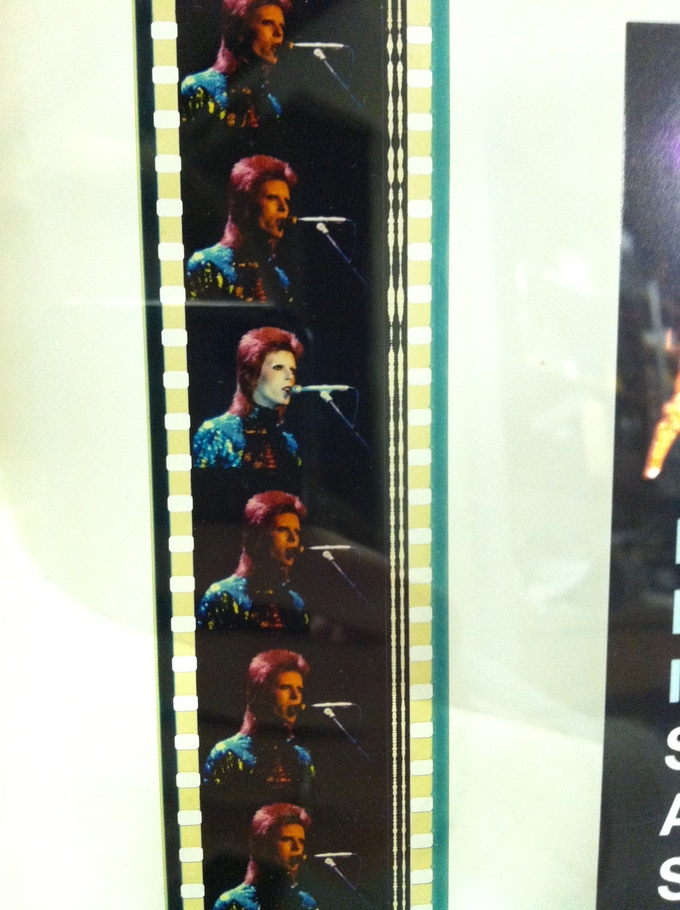 ZIGGY STARDUST Original 35mm Film Strip