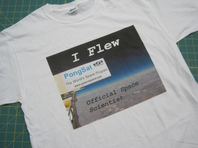 "New Reward: ""I Flew"" Tee Shirt"
