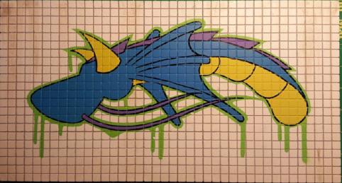 SEST 2 ART - Original Clay Wall