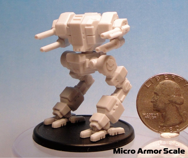Micro Armor Scale NorAm Lynx    (measures 45mm tall)