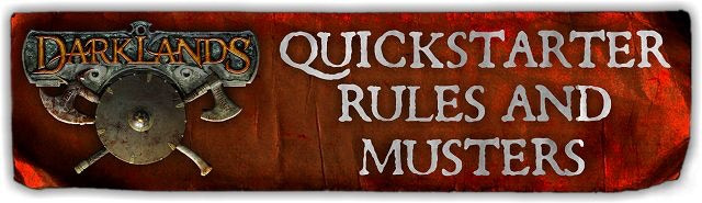 Click to see the latest version of the QuickStarter Rules, Muster Rules and Kindred Musters