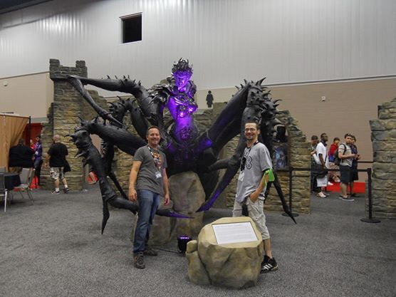 Me, Cosmo Joe, at GenCon with Lolth