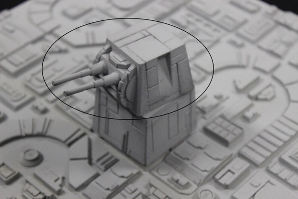 Add-On Turret Top Only (2 piece resin) $10