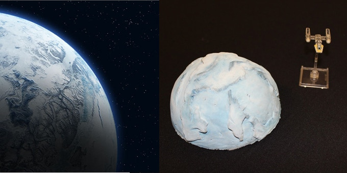 Ice Planet (1 piece resin) $15.00
