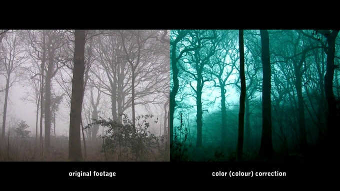 Color Correction Example - It makes a big difference!