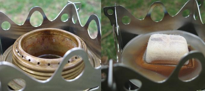 Trangia Burner - Esbit Solid Fuel