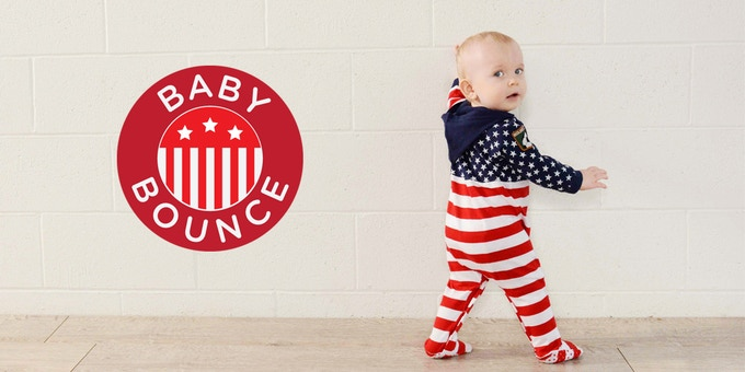 On our way to Rio, baby! The coolest babies wear Baby Bounce...