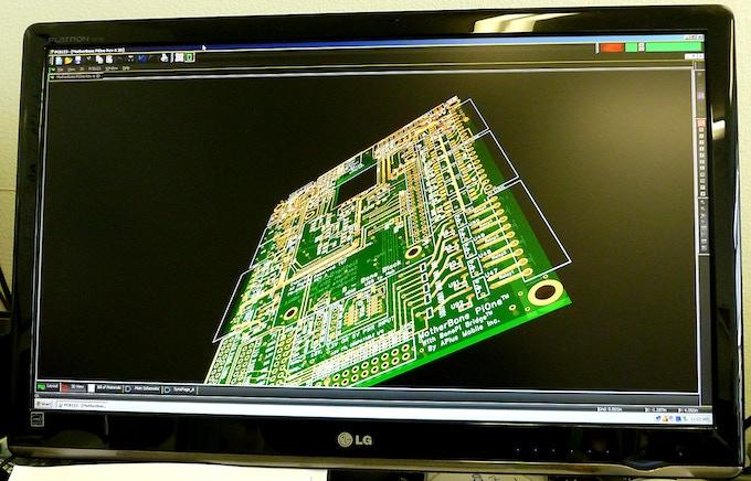 Board 3D Rendering