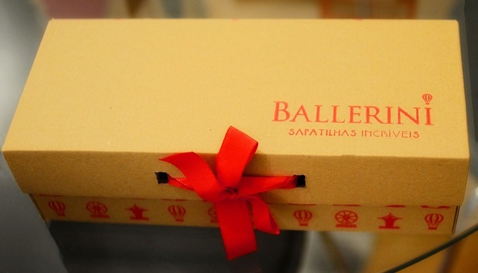 Even the single shoe box is special. :)