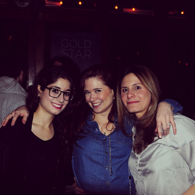 Victoria, Katie, and Effie at a New York fundraiser for the film
