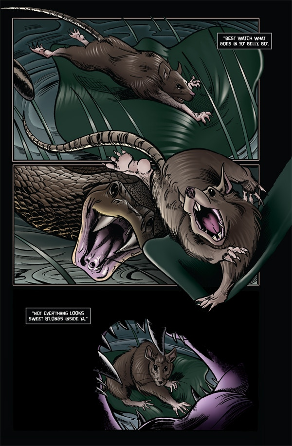 Roadkill du Jour 3 - Page 1 - Fully Colored & Lettered!