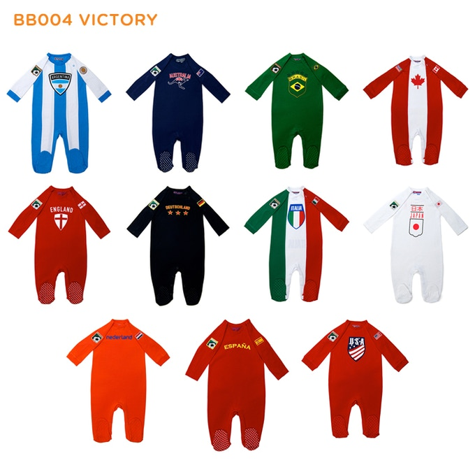 "Other colors available for each country (2-4 Colors) in BB004 ""Show your colors"""