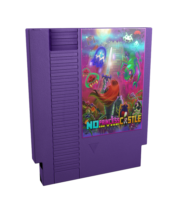 Reward #8    Special Edition Blu Ray Nintendo shaped Cartridge case. This is a rendered image, original design will take place once we have met our goal!