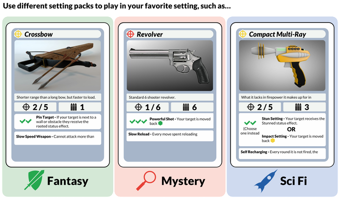 Simple System Table Top Roleplaying Game System By Dashing Inventor Games Kickstarter