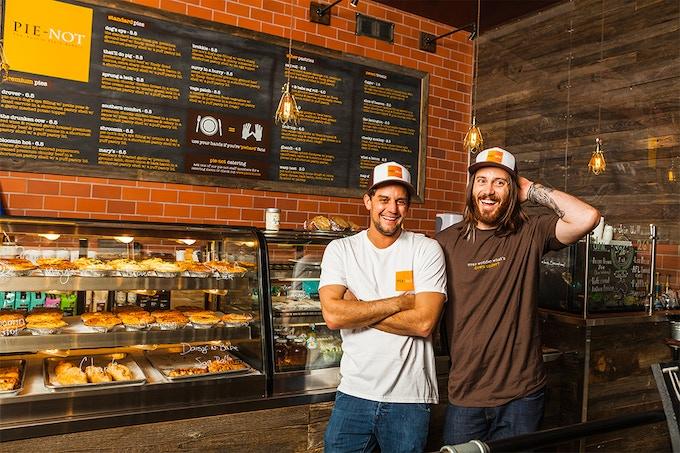 Pie-Not owners: Ryan Lopiccolo & Jai Snowdon